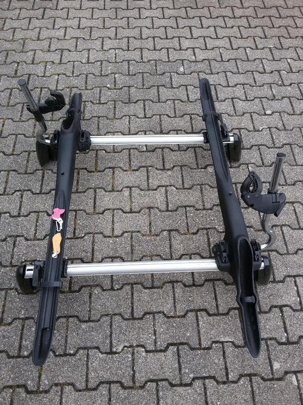 fahrradtr ger mit grundtr ger f r dachreling audi a3. Black Bedroom Furniture Sets. Home Design Ideas