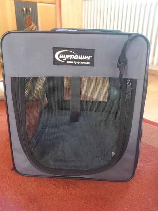 faltbare hundebox von eyepower in berglen zubeh r f r. Black Bedroom Furniture Sets. Home Design Ideas