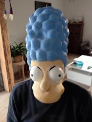 Fasching Masken Homer