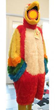 Faschingskostüm Papagei