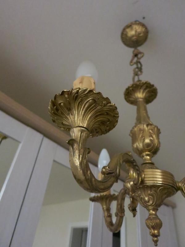 kronleuchter gold kaufen gebraucht und g nstig. Black Bedroom Furniture Sets. Home Design Ideas