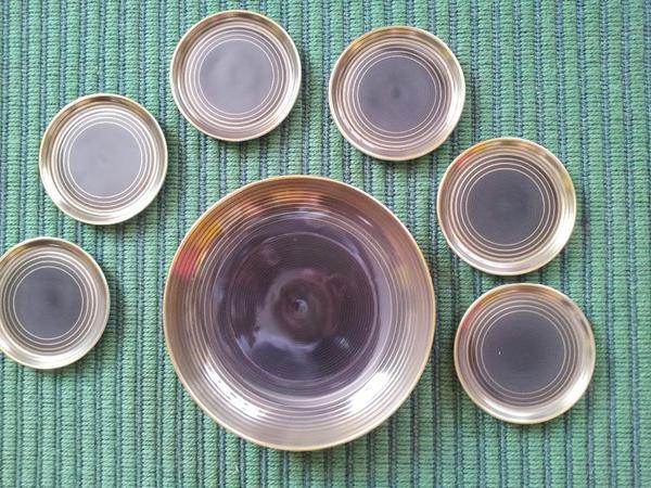f rstenberg porzellan geb ckschale und teller 60 er 70 er jahre in starnberg glas. Black Bedroom Furniture Sets. Home Design Ideas