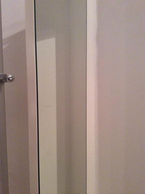 garderobe stolmen inclusive spiegel und kleiderhaken in. Black Bedroom Furniture Sets. Home Design Ideas