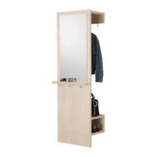 garderobe wei von ikea in karlsruhe garderobe flur keller kaufen und verkaufen ber private. Black Bedroom Furniture Sets. Home Design Ideas