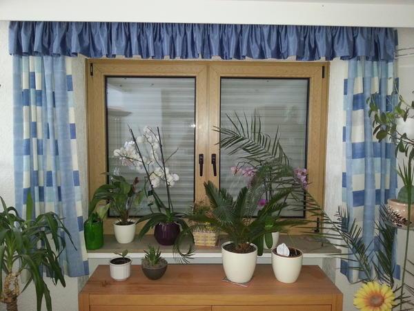 gardinen f r 3 fenster im landhausstil in donauw rth gardinen jalousien kaufen und verkaufen. Black Bedroom Furniture Sets. Home Design Ideas