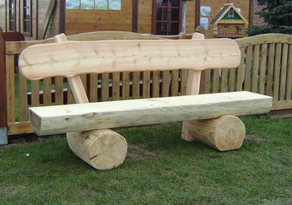 Gartenbank » Holz