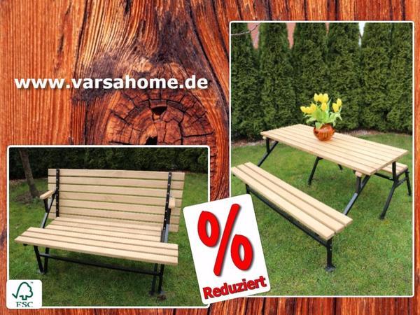 gartenbank mit tisch 39 varsa im 01 39 stark reduziert www. Black Bedroom Furniture Sets. Home Design Ideas