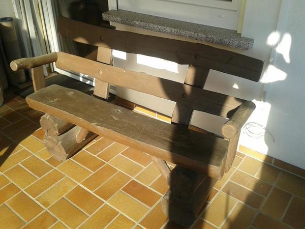 holz gartenbank neu und gebraucht kaufen bei. Black Bedroom Furniture Sets. Home Design Ideas