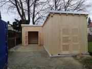 Gartenhaus mit Strom
