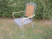 Gartenmöbel 3x Gartenstühle +