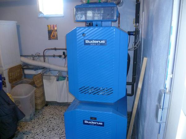 gaszentralheizung buderus g134 18kw in jockgrim elektro heizungen wasserinstallationen. Black Bedroom Furniture Sets. Home Design Ideas