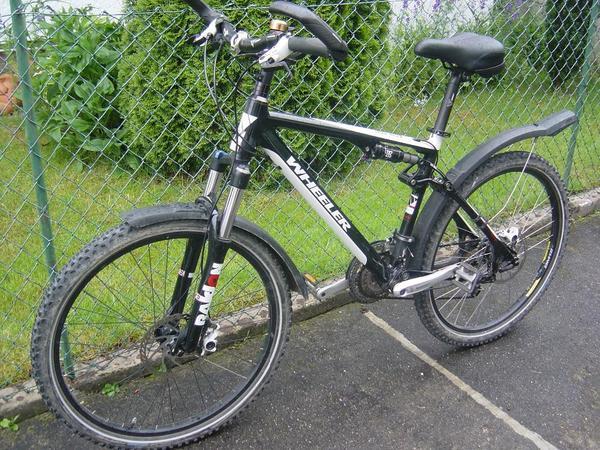 gebrauchtes wheeler mtb 26 39 fully fahrrad 18 39 in karlsruhe mountain bikes bmx r der rennr der. Black Bedroom Furniture Sets. Home Design Ideas