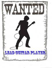 Gitarrist/in gesucht