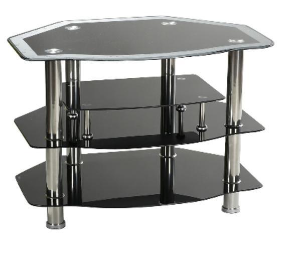 fernsehtisch glas neu und gebraucht kaufen bei. Black Bedroom Furniture Sets. Home Design Ideas