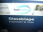 Glasablage fürs Bad -
