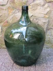 Glasballonflasche