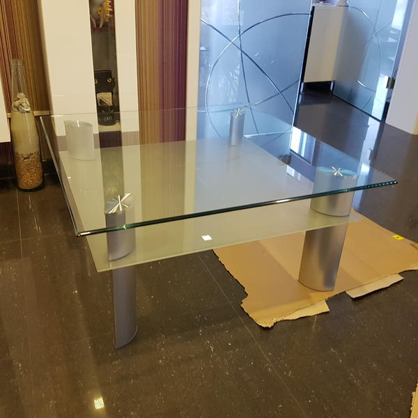 Satinierten glastisch neu und gebraucht kaufen bei for Glastisch 90x90