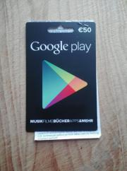 Google Play Karte