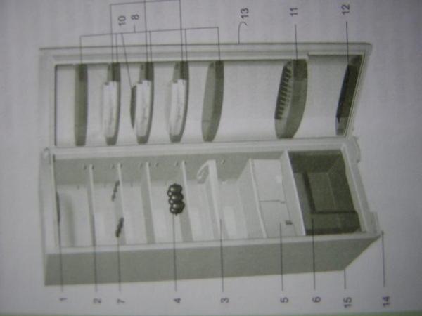 Biete zubehör siehe bilder für gorenje hochkühlschrank typ r 67364