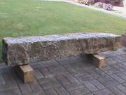Granitstein als Gartendeko