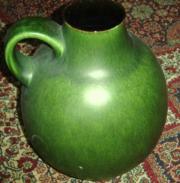 Grosse Bodenvase Grün