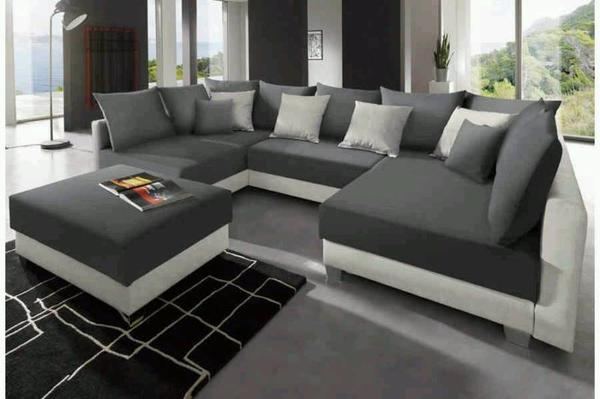 gro e wohnlandschaft u form in tuttlingen polster sessel couch kaufen und verkaufen ber. Black Bedroom Furniture Sets. Home Design Ideas