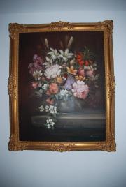 Großes Ölgemälde Maler