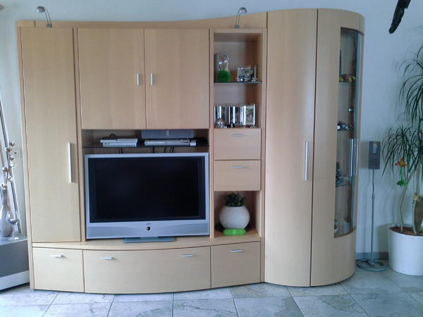 ahorn wohnwand neu und gebraucht kaufen bei. Black Bedroom Furniture Sets. Home Design Ideas