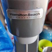 Gebraucht, Hamilton Beach Commercial Standmixer Profigerät Gastro 2 Becher gebraucht kaufen  Weil am Rhein Ötlingen
