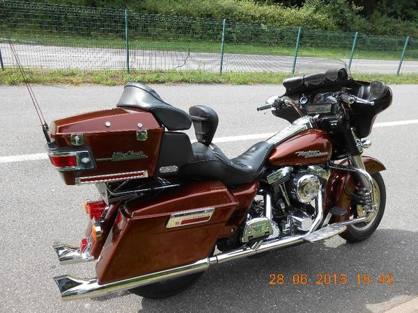 harley davidson electra glide kaufen gebraucht und g nstig. Black Bedroom Furniture Sets. Home Design Ideas