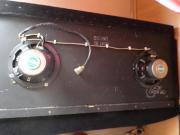 Heckablage + 2 Lautsprecher