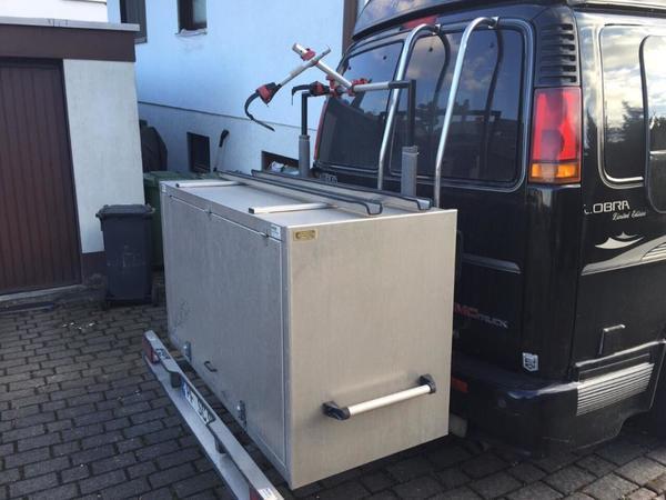 heckbox f r wohnmobil oder kastenwagen aus alublech in. Black Bedroom Furniture Sets. Home Design Ideas