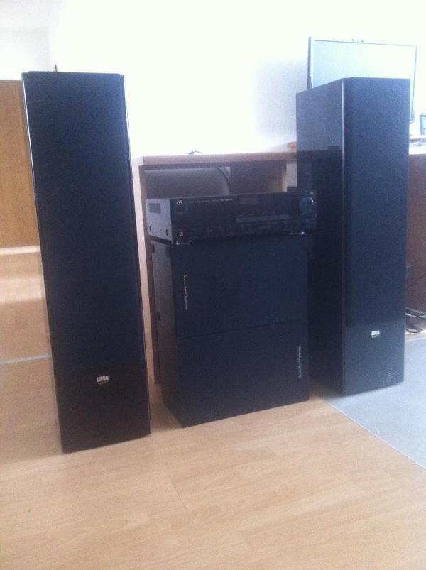 hifi anlage mit 2 tollen heco superior 840 boxen in mannheim stereoanlagen t rme kaufen und. Black Bedroom Furniture Sets. Home Design Ideas