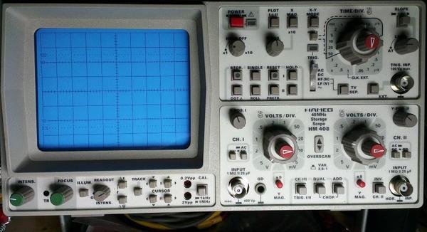 Gebrauchte Hm408 Hameg 40mhz Digitales Speicher Oszi