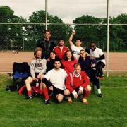Hobbykicker- und Fußballerinnen