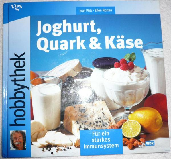 hobbythek joghurt quark und k se zum selbermachen selten tolles geschenk in stuttgart. Black Bedroom Furniture Sets. Home Design Ideas