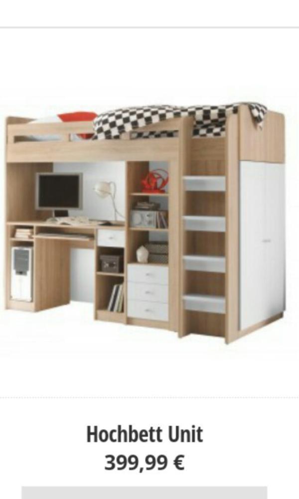 hochbett schreibtisch neu und gebraucht kaufen bei. Black Bedroom Furniture Sets. Home Design Ideas