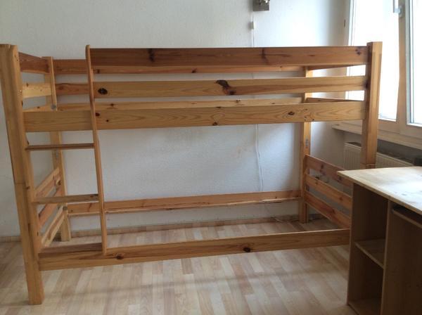 hochbett und 2 schreibtische 2 schreibtischst hle. Black Bedroom Furniture Sets. Home Design Ideas