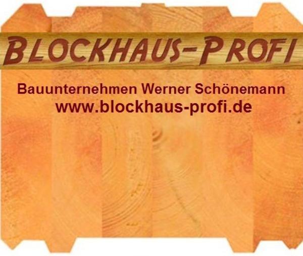 Hochwertige kleine blockh user holzhaus in blockbauweise for Kleines wohnhaus aus holz