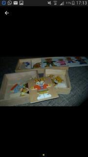 Holz Teddypuzzel