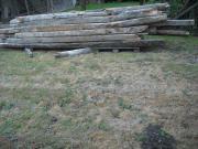 Holzbalken Abbruch Abrissholz