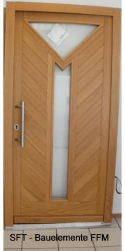 Holzhaustür Haustür aus