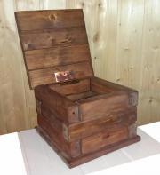 Holzkiste Schatztruhe Kiste