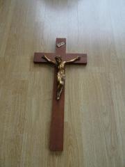 Holzkreuz Kruzifix 50cm