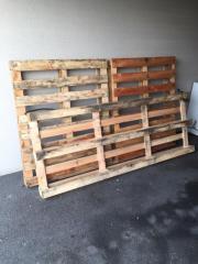 Holzpaletten 2 Stück