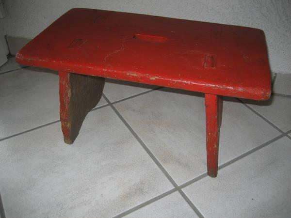 holzschemel kleine sitzgelegenheit sitz in birkenheide haushaltsger te hausrat alles. Black Bedroom Furniture Sets. Home Design Ideas