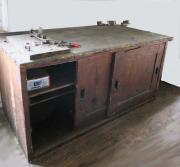 Holzschrank, Werkstättenschrank,Massivholz,