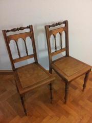 Holzstühle Walzenstühle Gründerzeit