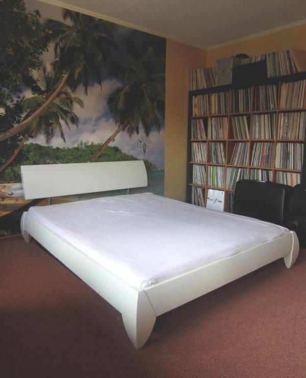 h lsta massivholzbett modell sonno 160 cm x 200 cm. Black Bedroom Furniture Sets. Home Design Ideas