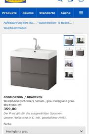 Ikea Badmöbel Hans
